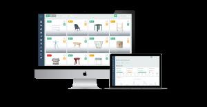 Interfaz gráfica de Sales Layer