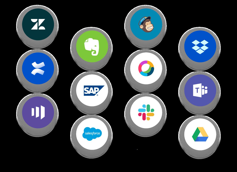 Conecta con más de +400 aplicaciones